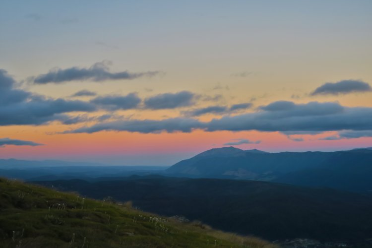 Paddys Track - Sonnenuntergang