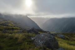 Cascade Route - Morgenstimmung