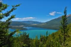 Lake Rotoiti - von der Mount Robert Road