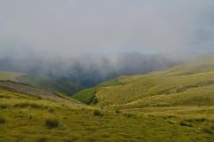 Robert Ridge Route - Blick ins Tal
