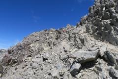 Robert Ridge Route - durch die Felsen