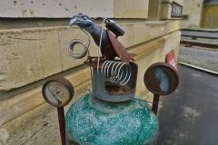 Steampunk Headquarter - Gasflasche