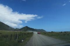 East Cape Lighthouse - Gegenverkehr