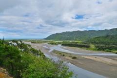 Waihau Bay - Fluss