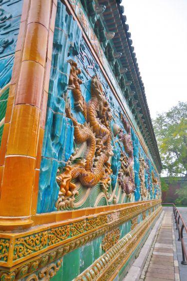 Beihai Park-The Nine-Dragon Wall-2