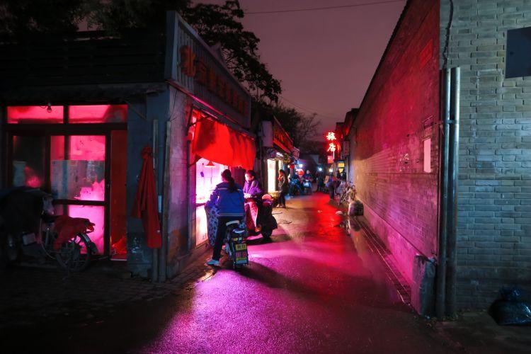Nachtleben in den Hutongs