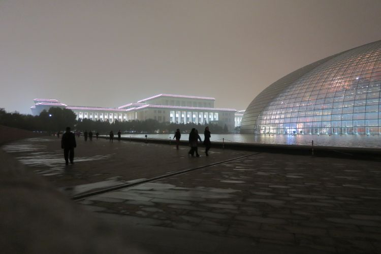 National Grand Theatre und Chinesische Nationalmuseum