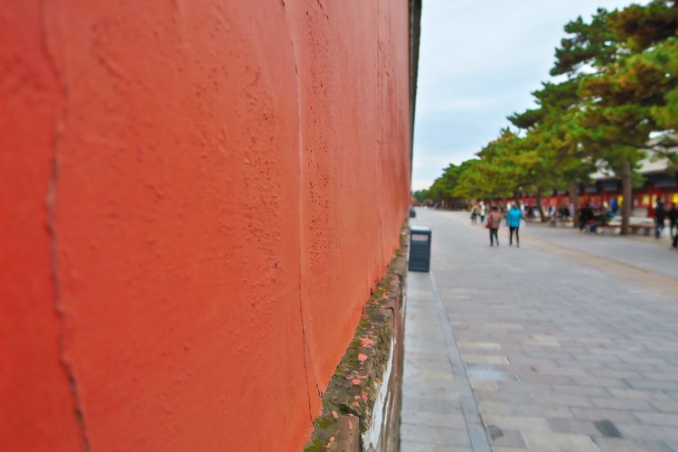 Verbotene Stadt - Mauer