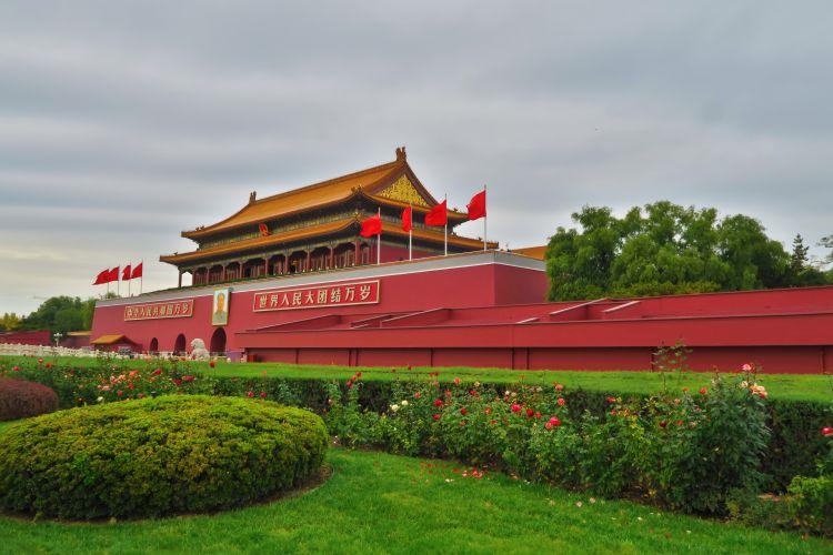 Verbotenen-Stadt-Eingang-Tiananmen-Tor