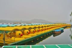 Beihai Hu - Boote
