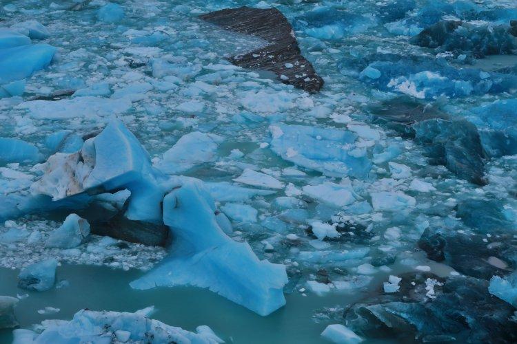 Abgebrochenes Eis - Perito Moreno Gletscher