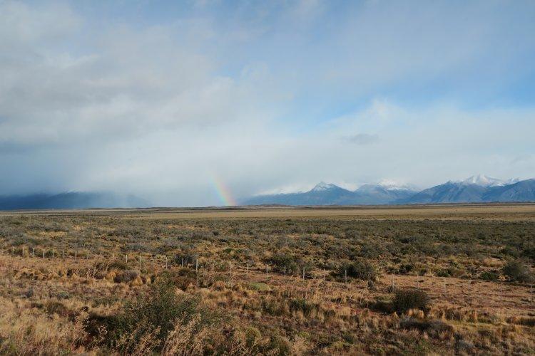 Weg zum Perito Moreno Gletscher-3