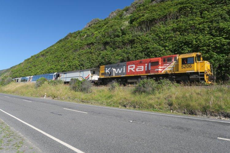 State Highway 1 - Kaikoura - Blenheim - KiwiRail