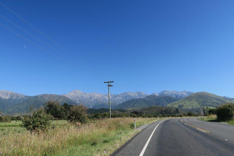 State Highway 1 - Kaikoura - Blenheim