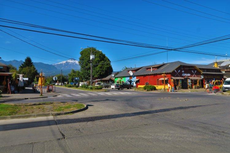 Pucon - Blick auf den Villarrica