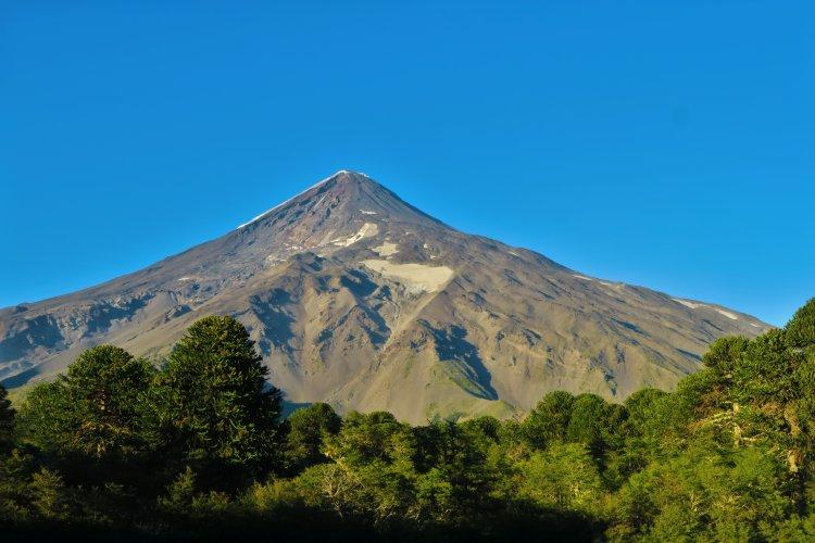 Villarrica - Grenze Argentinien - Chile