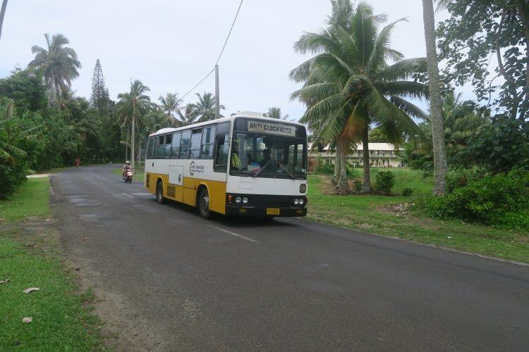 Rarotonga Bus - Anti Clockwise