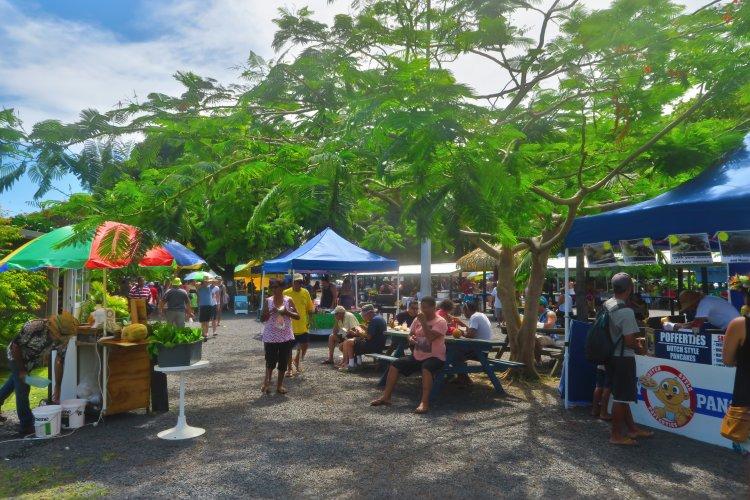 Te Punanga Nu Market