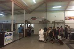 Ankunftshalle Rarotonga
