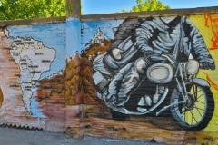 Graffiti - Motorrad
