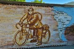 Graffiti - Radwanderer