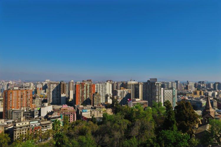 Blick-ueber-Santiago-vom-Cerro-Santa-Lucia-3