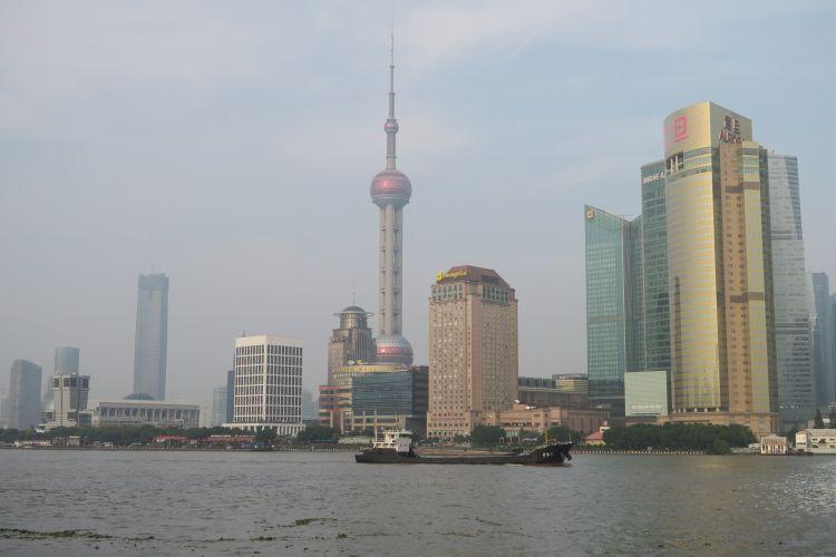 Skyline Pudong vom Bund
