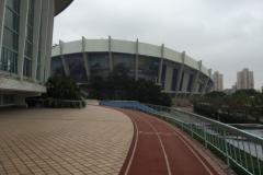 Shanghai Swimming Stadion - Laufstrecke
