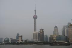 Skyline Pudong von Huangpu Jiang
