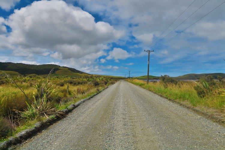Haldane Curio Bay Road