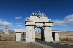 Dschingis Khan Monument - Tor