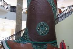 Groesster Mongolischer Schuh der Welt