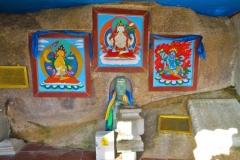 Kloster Aryabal - Altar