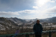 Kloster Aryabal - Ausblick mit Autor
