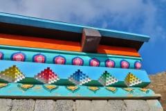Kloster Aryabal - Detail Holz