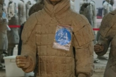 Halle1 - Soldat 24 blau