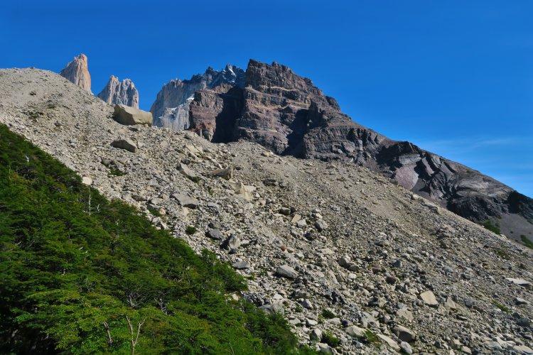 Anstieg zum Base de Las Torres Lookout