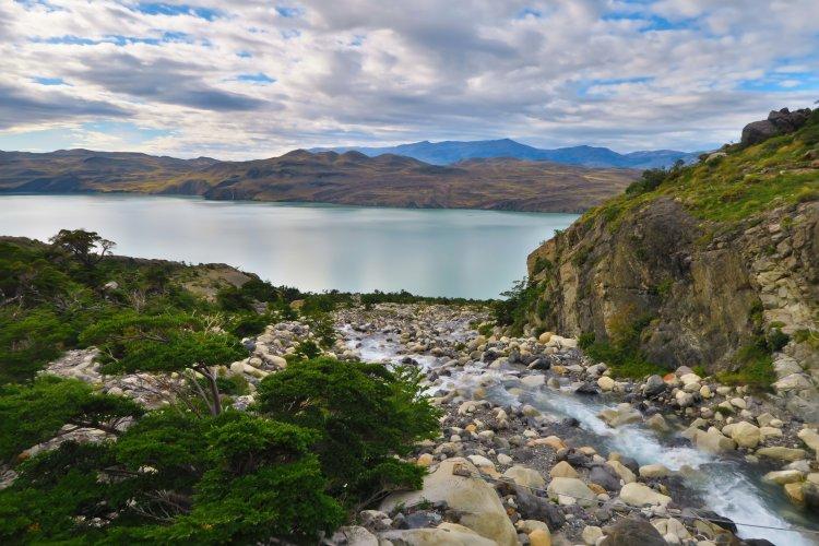 Nordernskjoeld-Lake-Zufluss