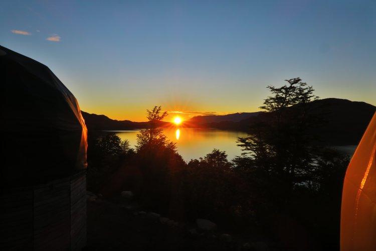 Sonnenaufgang - Domos Frances