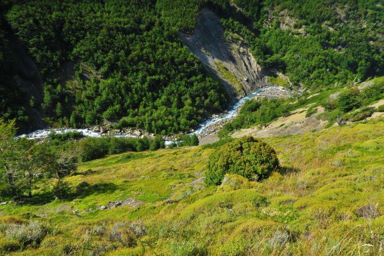 Weg vom Chileno Camp zum Las Torres Shelter-4