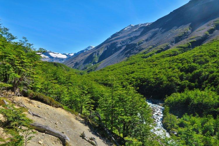 Weg vom Chileno Camp zum Torres Del Paine-2