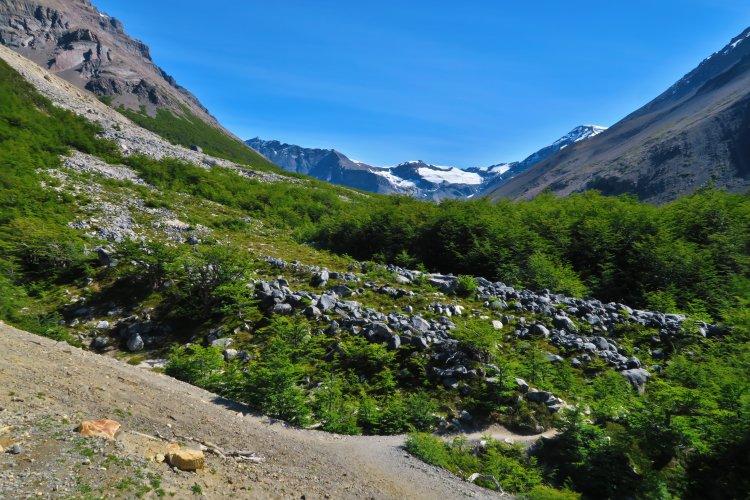 Weg vom Chileno Camp zum Torres Del Paine-3