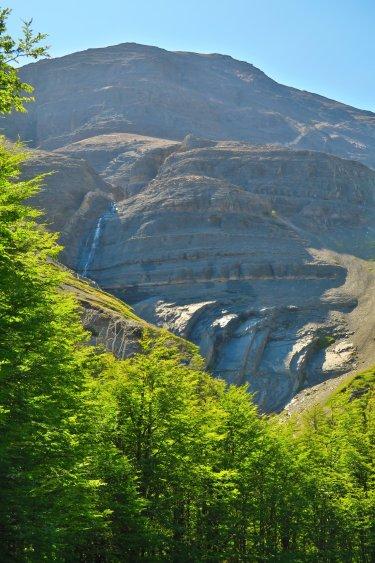 Weg vom Chileno Camp zum Torres Del Paine