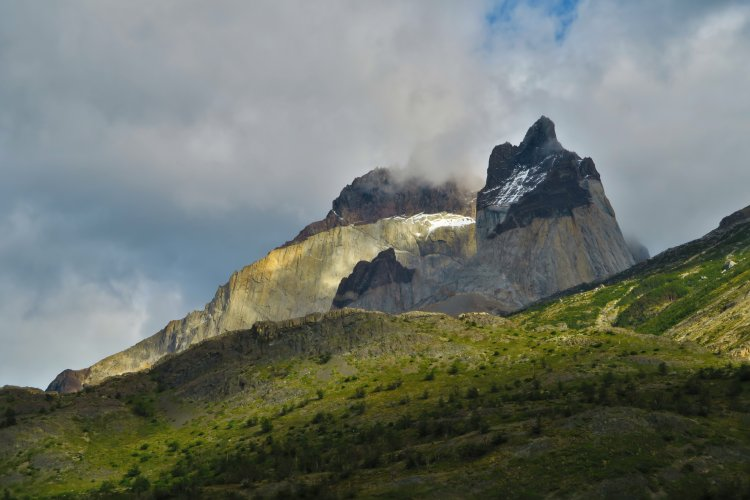 Weg vom Los Torres Shelter zum Los Cuernos Camp-5
