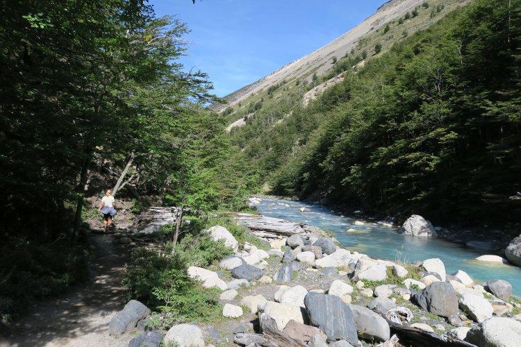 Weg vom Torres Del Paine zum Chileno Camp-2