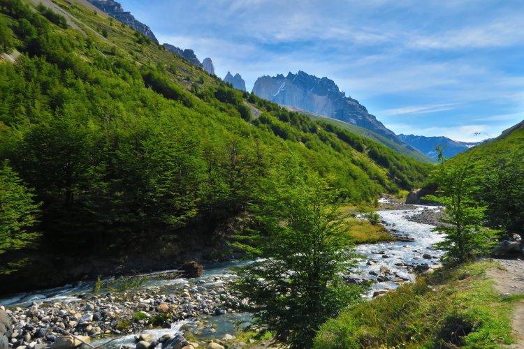 Weg vom Torres Del Paine zum Chileno Camp-3