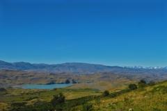 Blick zum Sarmiento de Gomboa Lake