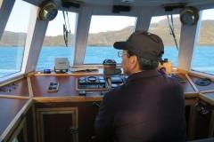 Lake-Pehoe-von-der-Faehre-Kapitän