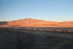 Schatten vom Zug