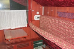 Alter Chinesischer Zug - Kabine